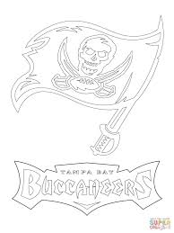 tampa bay buccaneers logo coloring page free printable coloring
