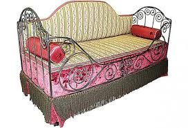 Wrought Iron Daybed French Antique Iron Daybed Omero Home
