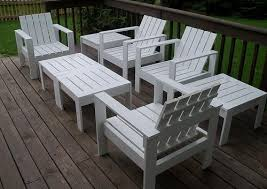 Plans For Wooden Patio Chairs by Ana White Ottoman Or Accent Table For Simple Modern Outdoor