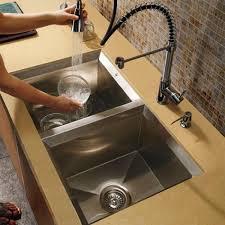 One Hole Kitchen Faucet With Sprayer Vigo Vg02003ch Chrome Single Hole Pull Out Sprayer Kitchen Faucet