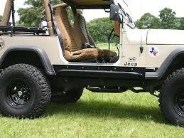 jeep rock sliders jeep yj rock sliders rocker guards rocker protection rock rails