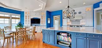 blue kitchen cabinets ideas design trend blue kitchen cabinets 30 ideas to get you started
