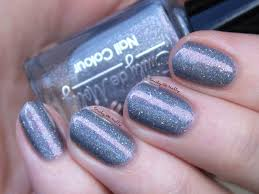 10 emily de molly shadow on the moon bn swatched on nail clip