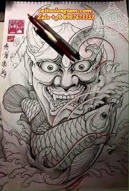 pin by súng đyên on mặt quỷ pinterest tattoo irezumi and