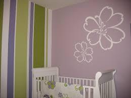 Modern Nursery Rugs Bedroom Beautiful Purple Green White Wood Simple Design Nursey