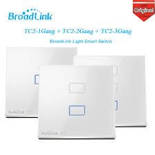 broadlink tc2 3 gang smart switch wireless wifi network remote