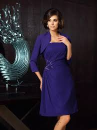 a linie herzausschnitt knielang chiffon brautjungfernkleid mit gefaltet p334 kleider für brautmutter mit jacke 2018 brautmutterkleider für
