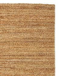 Heathered Chenille Jute Rug Natural Jute Rug Colette Basket Handwoven Jute Rug Ivory Block Print
