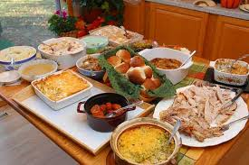 healthy food options for thanksgiving