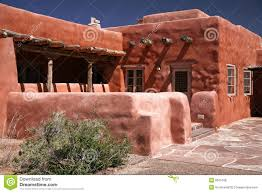 adobe house pueblo royalty free stock photos image 6615168