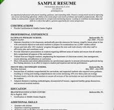 Teacher Resume Samples And Writing by Extravagant Teacher Resume Sample 3 Samples Writing Guide Cv