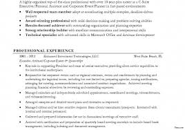 event coordinator resumes notable event planner resume highlights marvelous on endearing