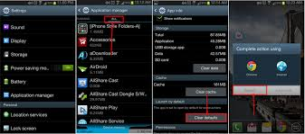 android default browser how to make chrome default browser android phone aponu