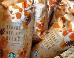 starbucks thanksgiving blend coffee fit for a feast starbucks