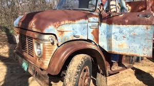 Old Ford Truck Junkyard - starting up the old ford truck youtube