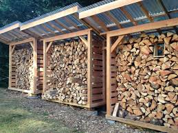 How To Build A Easy Shed by Plans For Firewood Storage Wood Storage Shed Wood Projects