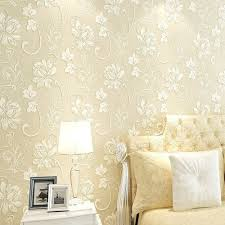 Wall Sticker Warehouse 2018 3d Floral Wall Paper Light Color Flower Wallpaper For Bedroom