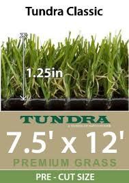 Green Turf Rug Natco Tundra Classic Artificial Turf Grass Rug 7 5 U2032x12