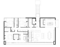 rectangle house floor plans gallery of emigration canyon residence sparano mooney