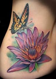 butterfly and lotus flower ideas lotus