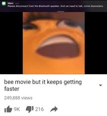 Bee Movie Meme - bee movie but know your meme