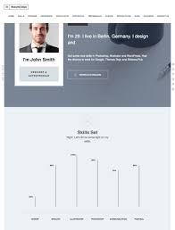 Sample Resume Yang Terbaik by 20 Best Wordpress Resume Themes For Your Personal Website