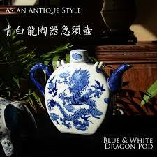 Blue And White Vases Antique Decorplus Rakuten Global Market Blue White Dragon Porcelain