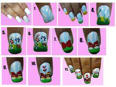 cute nail designs for teenagers to do at home instructions by
