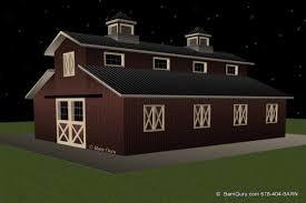 loft barn plans barn plans 6 stall horse barn design floor plan