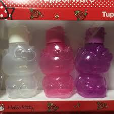 reserved tupperware kitty water bottle 425ml brand
