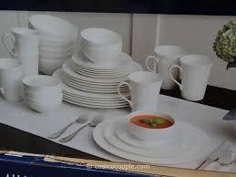 mikasa swirl bone china set