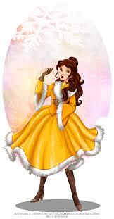winter princess belle selinmarsou deviantart