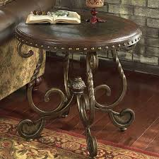 rafferty round end table by signature design by ashley furniture