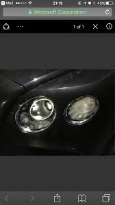 bentley silver wings condensation in headlights 6speedonline porsche forum and