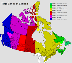 Newfoundland Map Time Zones In Newfoundland And Labrador U2014 Time Genie U0027s Encyclopedia