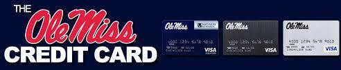 ole miss alumni sticker the ole miss credit card