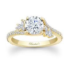 engagement rings yellow gold barkev s yellow gold engagement ring 7908ly barkev s