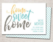 sweet home we ve moved cards words lovely writing free personalised