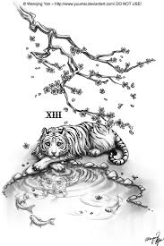 white tiger commission by yuumei on deviantart