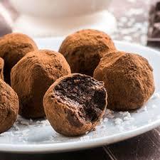 cuisiner truffe truffes au nutella