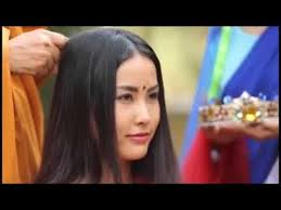 very beautiful headshave girls beautiful lady headshave to become nun youtube