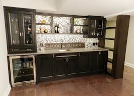Stainless Steel Backsplash Kitchen by Refined By Design Interior Design Toronto Basement Bar Custom