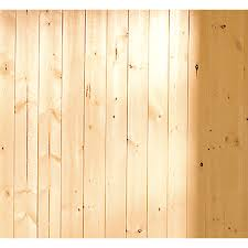 shop evertrue 3 5625 in x 8 ft v groove gold pine wood wall panel