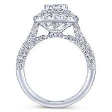 engagement ring cushion cut cushion cut engagement rings gabriel co