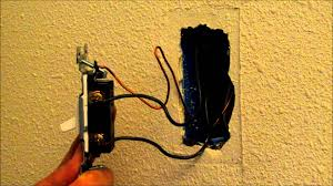 replacing light switch 2 black wires video how to easily replace or change a light switch youtube