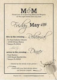 wedding rehearsal dinner invitations dinner invitation decorating ideas for a wedding rehearsal