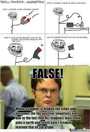Magnets Meme - rmx troll physics magnets by cattyhat28 meme center