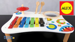 table toys play table my music play table from alex youtube