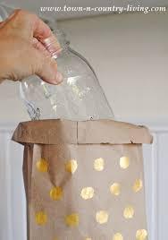 Bag Vase Easy Paper Bag Vases Town U0026 Country Living