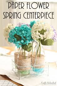 diy centerpieces spring floral vases crafts unleashed supplies needed to make your own paper floral diy centerpieces